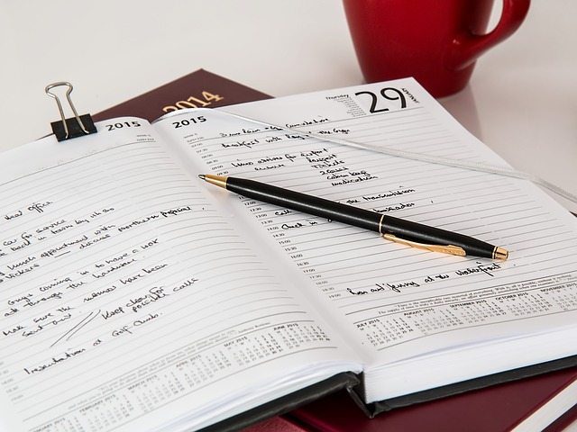 How to Journal with Consistency - Photo Credit: Public Domain via Pixabay